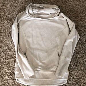 Oatmeal cowl neck Lululemon sweatshirt